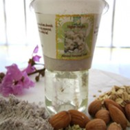 Almond Hemp seed Scrub